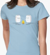 Marshmallows Womens Fitted T-Shirt