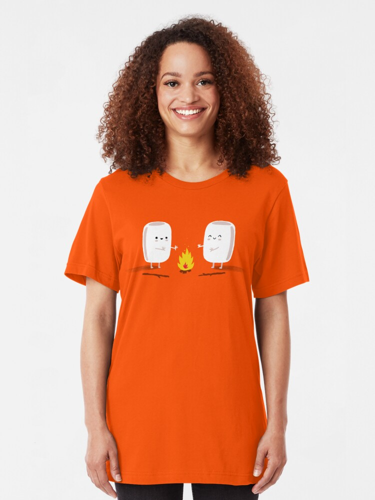 Alternate view of Marshmallows Slim Fit T-Shirt