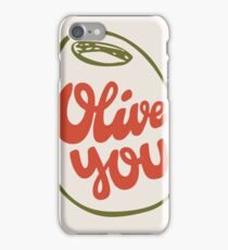 Olive You iPhone Case/Skin
