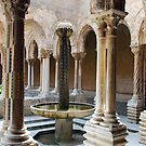 Cloister of Monreale - Sicily - Italy by Arie Koene