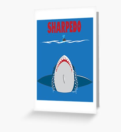 SHARPEDO Greeting Card