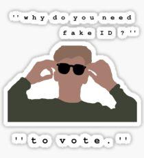 The Breakfast Club - Brian Sticker