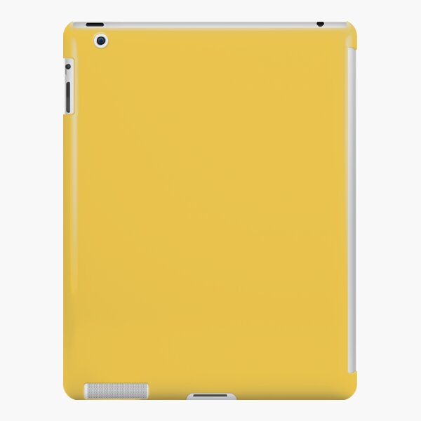 Butterscotch Yellow, Vibrant Colors, Solid Colors by Courtney Hatcher iPad Snap Case