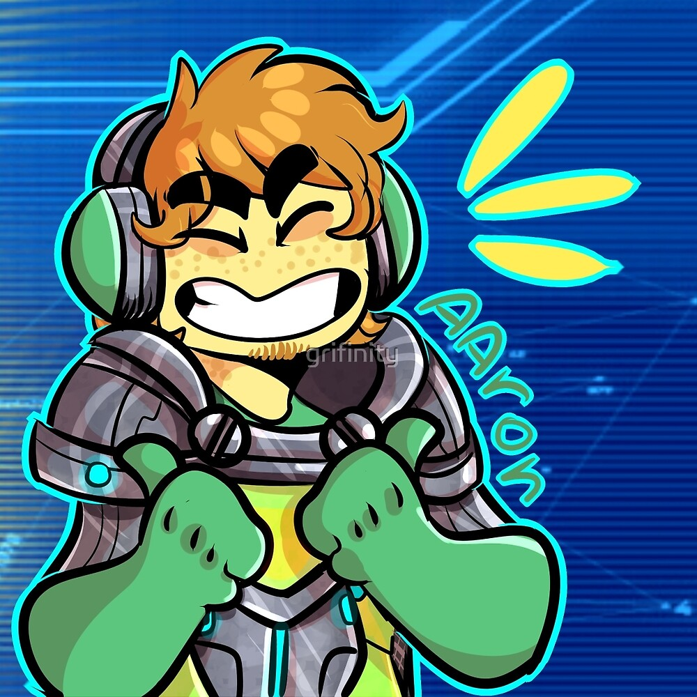 nexoknights- aaron by grifinity