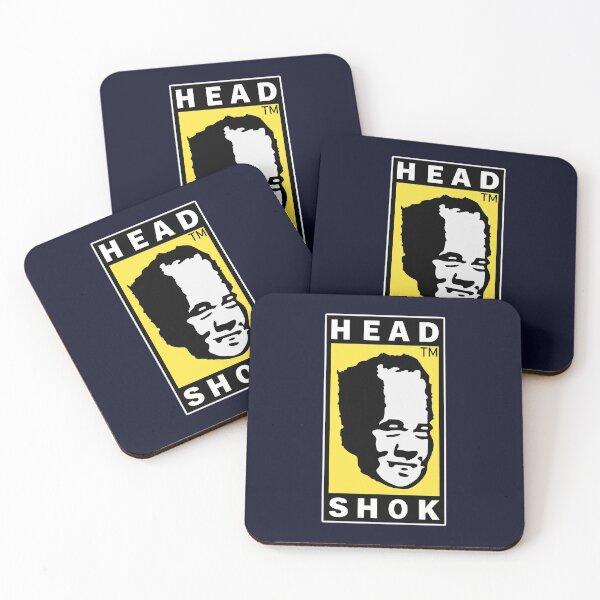 Head Shok Stroke Coasters (Set of 4)