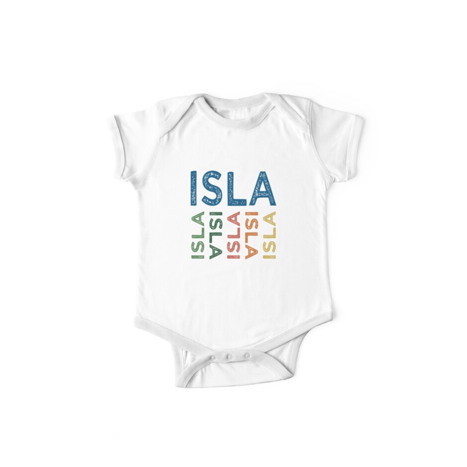 Isla Cute Colorful by Wordy Type