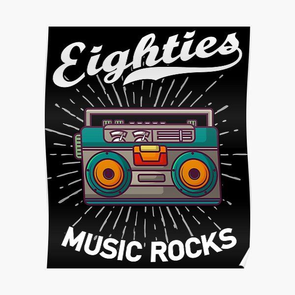 80s Eighties Music Posters Redbubble