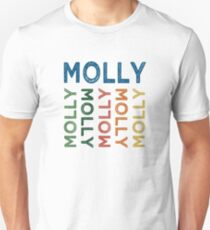 Molly Cute Colorful Unisex T-Shirt