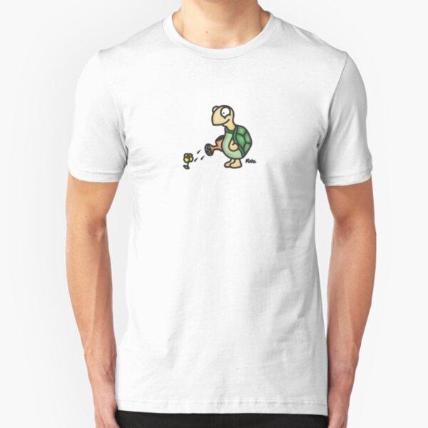 Gartenschildkröte Slim Fit T-Shirt