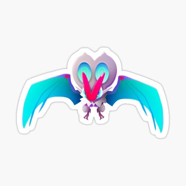 Blue Ocean Bat Sticker