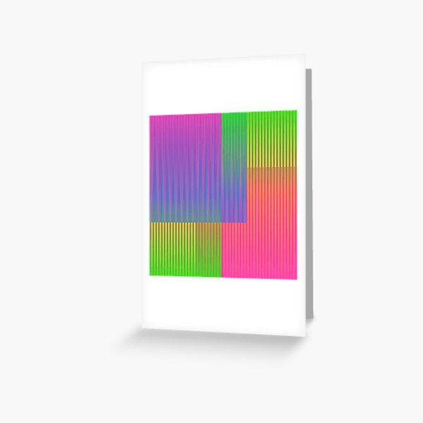 Kinetic Colors 3 Greeting Card
