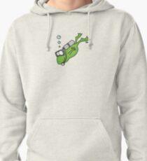 Diving Frog Hoodie