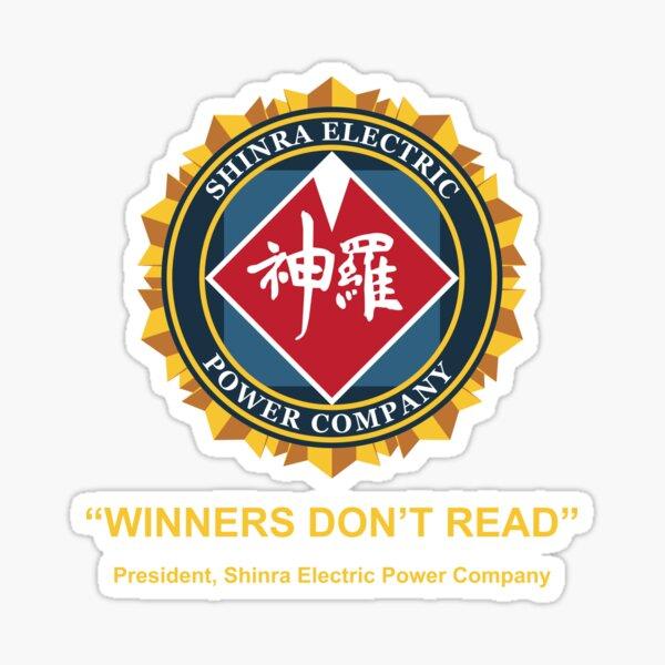 Winners Don't Read Sticker