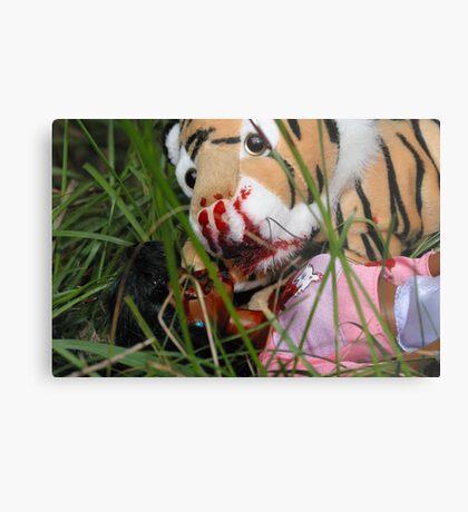"""Bad Bambi Series, #3 """"Bad Bambi on Safari""""  Metal Print"""