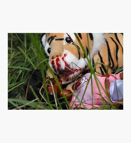 """Bad Bambi Series, #3 """"Bad Bambi on Safari""""  Photographic Print"""