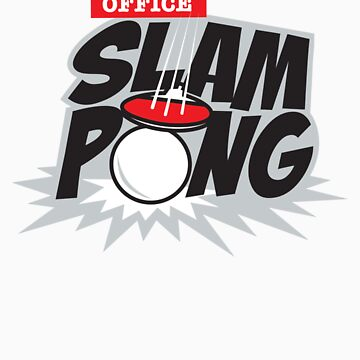 Office Slam Pong by DetourShirts