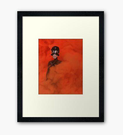 "Bad Bambi Series, #16 ""Breath of Fresh Air""  Framed Print"