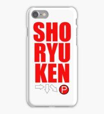 SHORYUKEN iPhone Case/Skin