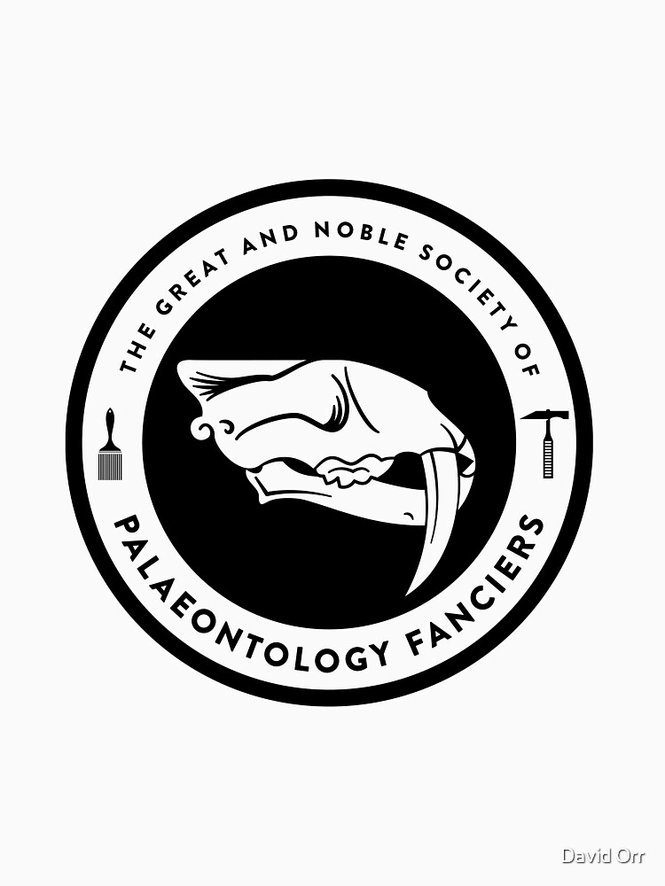 The Society of Palaeontology Fanciers (Black on Light) by anatotitan