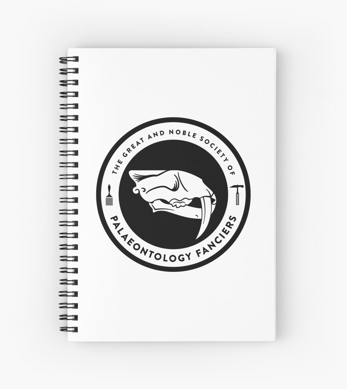The Society of Palaeontology Fanciers (Black on Light) by David Orr