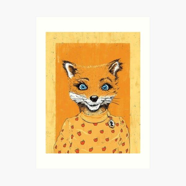Fantastic Mr Fox Art Prints Redbubble