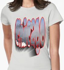 Chicago Winter Women's Fitted T-Shirt