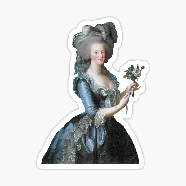 """Vigée Le Brun's """"Queen Marie Antoinette of France"""" Sticker"""