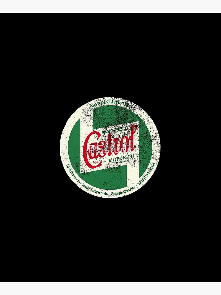 Castrol Classic Vintage Sign by PSstudio