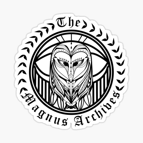The Magnus Archives Sticker