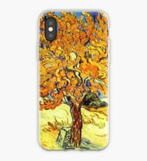 The Mulberry Tree, Vincent van Gogh iPhone-Hülle & Cover