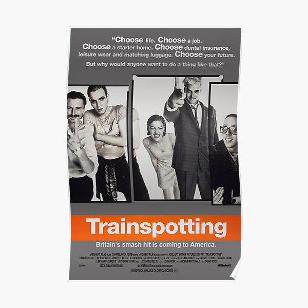 Trainspotting - Affiche de film Poster