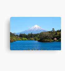 Mt. Taranaki - New Zealand................! Canvas Print