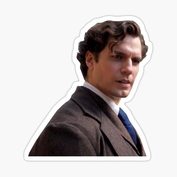Sherlock Cavill Sticker
