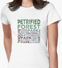 Petrified Forest National Park Womens Fitted T-Shirt