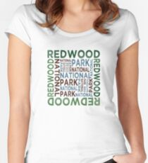 Redwood National Park Women's Fitted Scoop T-Shirt