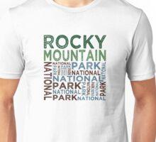Rocky Mountain National Park Unisex T-Shirt