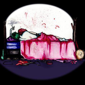 Mad Clown Love by LVBART