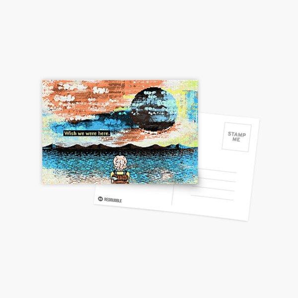 Wish we were here. [sea] Postcard