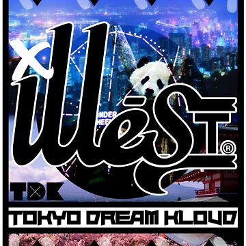 ILLE STREET- TOKYO, NY by KAPNKAZZ