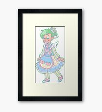 princess ferb Framed Print