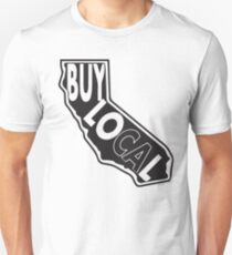 Buy local California black print Unisex T-Shirt