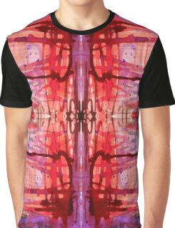 mostly red with purple bleeds Graphic T-Shirt