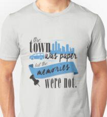 John Green - Paper Towns Quote T-Shirt