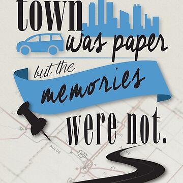 John Green - Paper Towns Quote by rainingonsunday