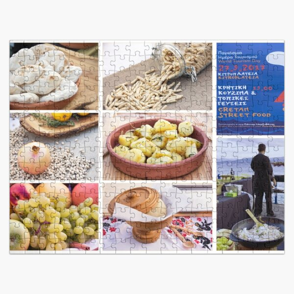 Cretan Street Food Jigsaw Puzzle