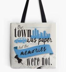John Green - Paper Towns Quote Tote Bag