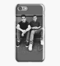 the dolan twins ! iPhone Case/Skin