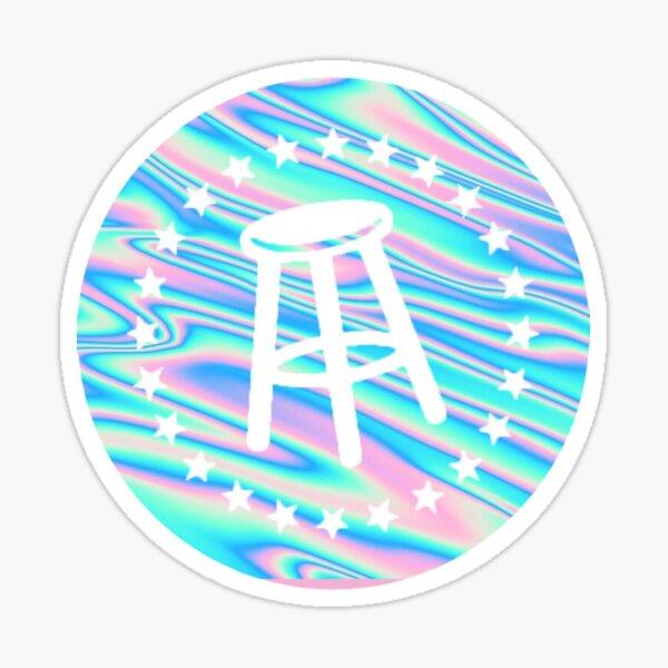 Holographic Barstool Sticker