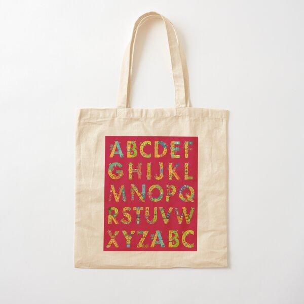 AlphaPod Letters Cotton Tote Bag