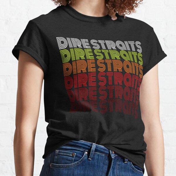 Dire Straits Vintage T-shirt classique